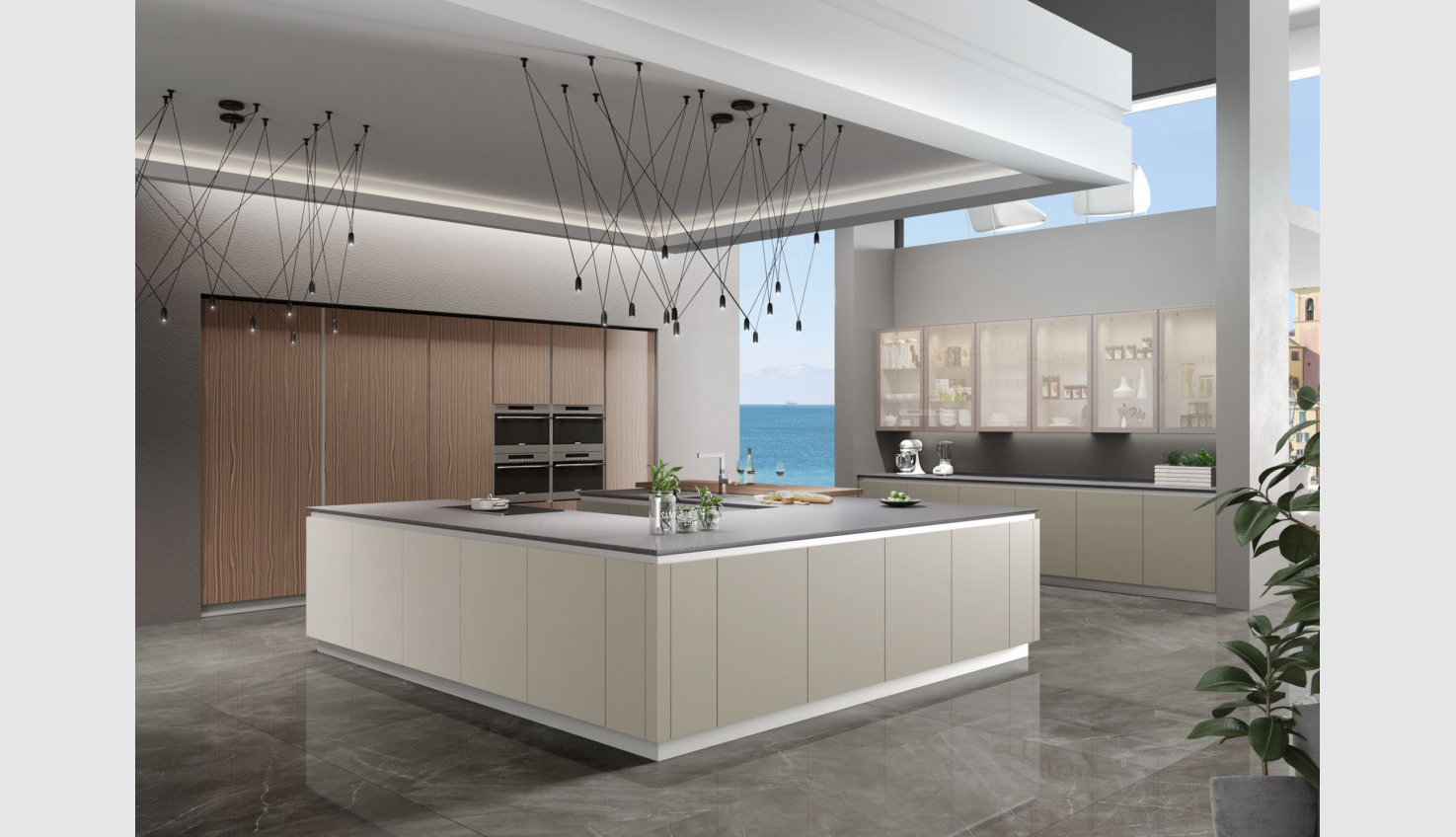 Studio Verticale Italian Kitchen Cabinets In Stock Ready To Deliver